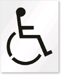 Where to rent STENCIL, PARKING LOT HANDICAP in Bloomington IL