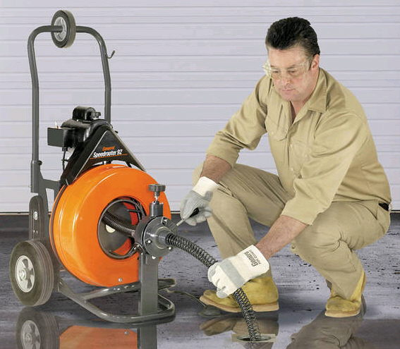 Where to find SEWER AUGER, 100 x3 4  w Feeder in Bloomington