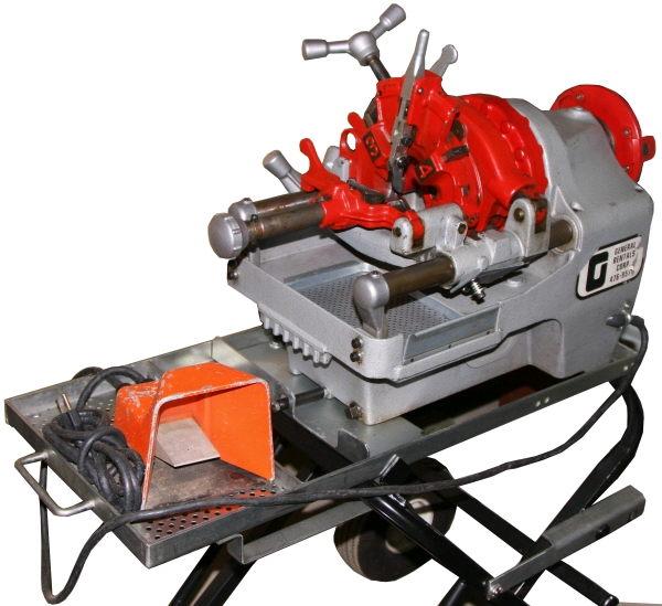 Threader Power 1 2 Inch 2 Inch Machine Rentals Bloomington