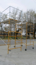 Where to rent SCAFFOLD, 10  PACKAGE W WHEELS in Bloomington IL