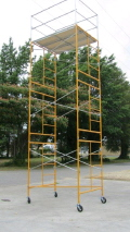 Where to rent SCAFFOLD, 15  PACKAGE W WHEELS in Bloomington IL